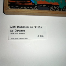 Les Maison de Ville de Grasse - By Charlotte Farhan