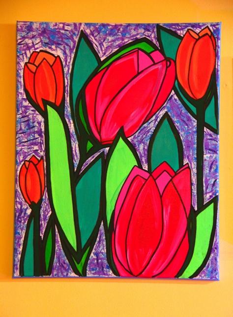 Tulip - By Charlotte Farhan