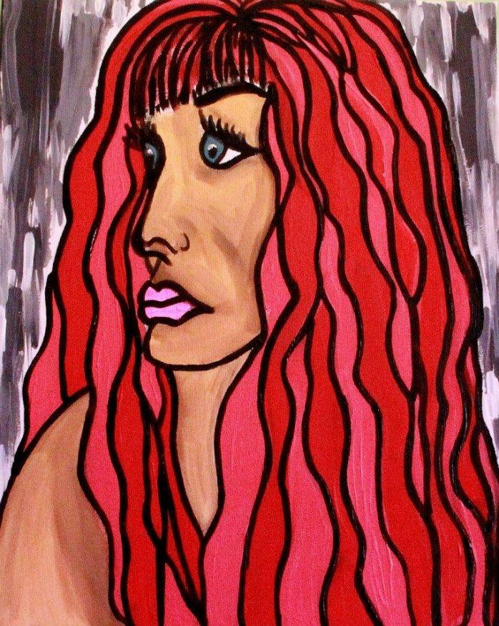 Alter Ego (self portrait) - By Charlotte Farhan
