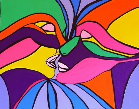 Genderless Love - By Charlotte Farhan http://www.charlottefarhanart.com/