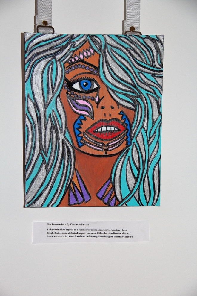 She is a Warrior - By Charlotte Farhan