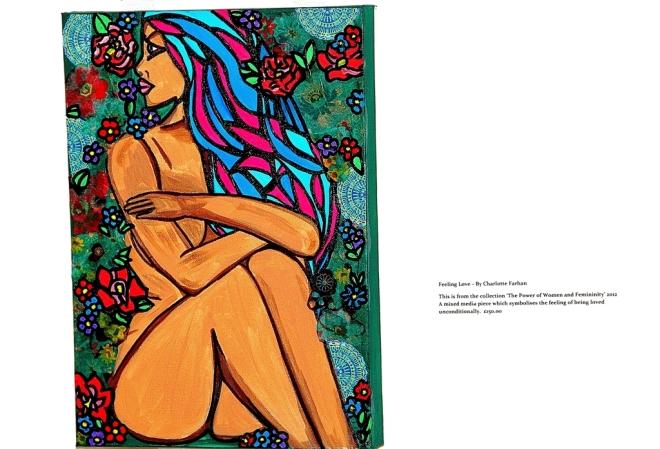 Feeling Love - By Charlotte Farhan