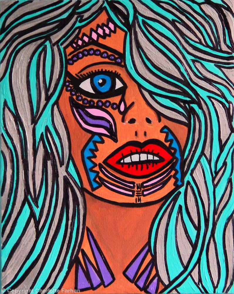 She is a warrior – By Charlotte Farhan