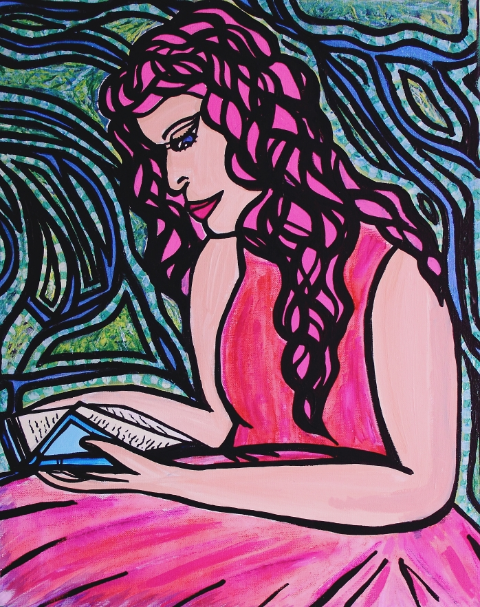 Escapism - By Charlotte Farhan Having been described as a dreamer all my life I have always had an escape to another world. I have a condition called depersonalisation due to my PTSD and Borderline Personality Disorder. It is considered an anomaly of self-awareness. It feels like you are watching yourself act. Feelings of identity change, and that the world around you has become vague and dreamlike. With nightmare scenarios such as everything feeling less real, or lacking in significance. But for me it is an escape from the reality and memories of my abuse. childhood and trauma. It reminds me of Alice in Wonderland, I feel like her sometimes, this is my representation of this.