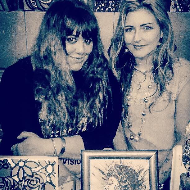 Charlotte Farhan and Lisa Reeve