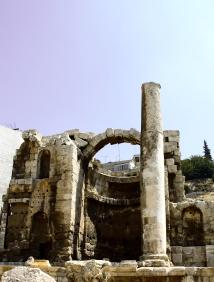 The Hashemite Kingdom of Jordan Photography By Charlotte Farhan Ruins amongst the city of Amman