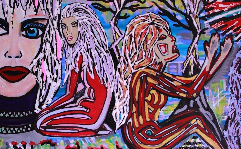 Losing my Identity – Art by CharlotteFarhan