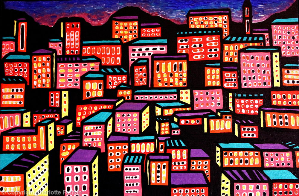 The Hills of Amman By Charlotte Farhan