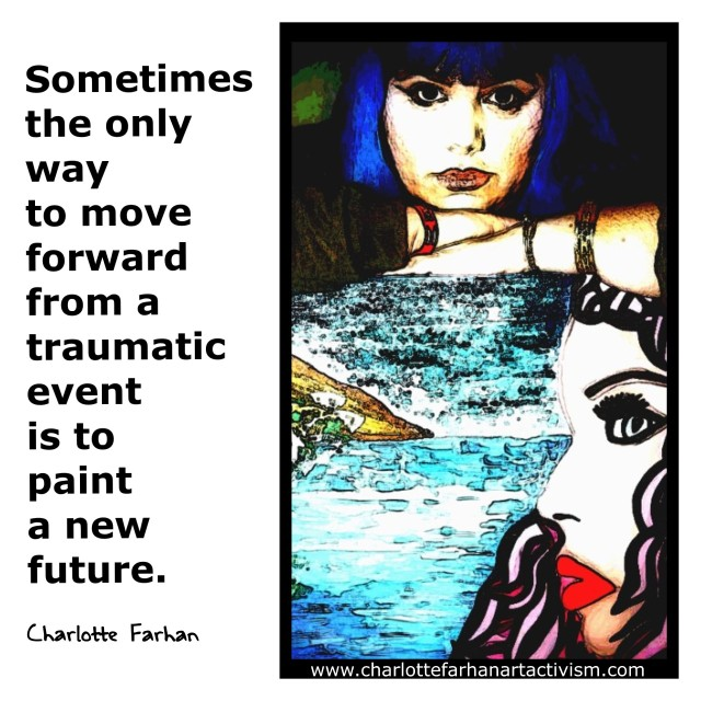 Quote by Artist Charlotte Farhan