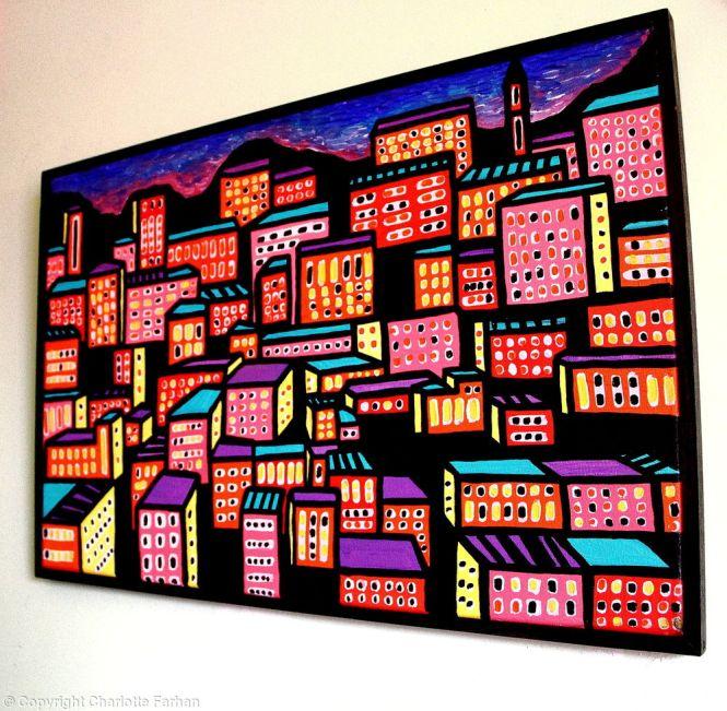 Amman Cityscape - By Charlotte Farhan