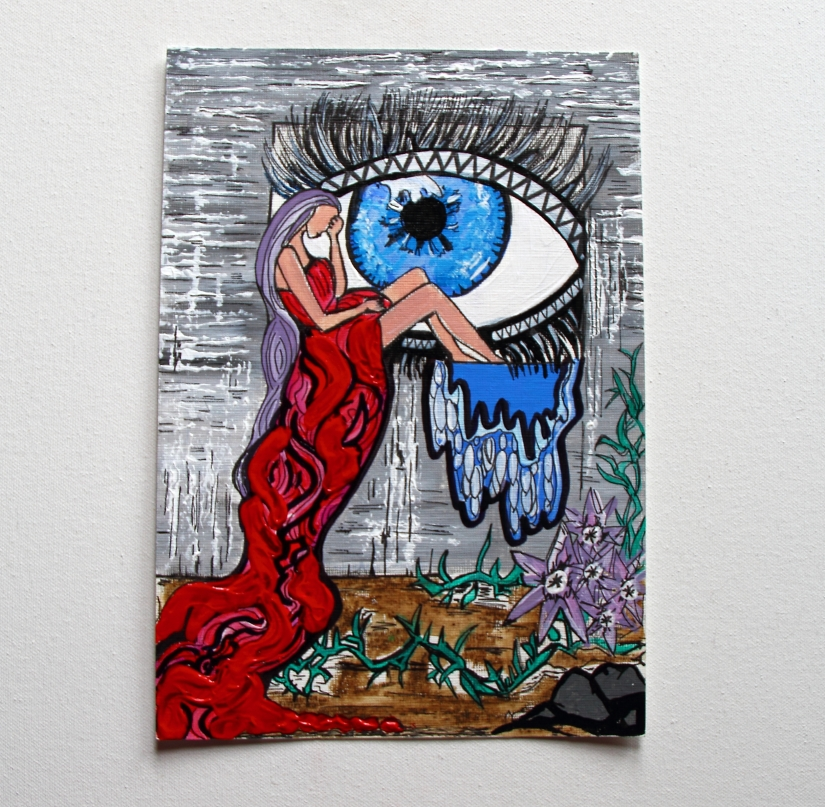Art to End the Silence on Rape – I Am Still Bleeding