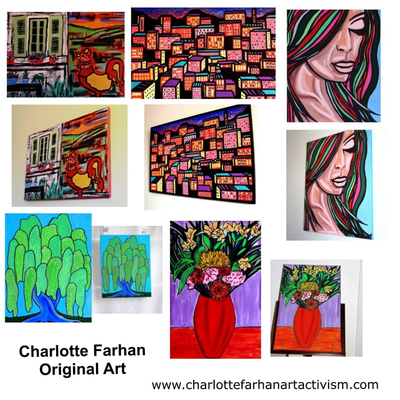 A Chance to Win a FREE Original Painting by Charlotte Farhan