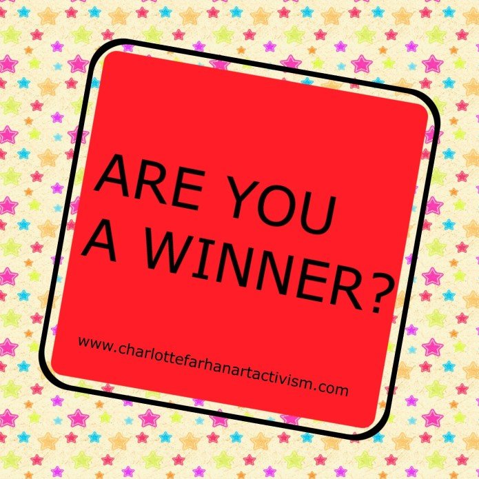 Are you a winner? Charlotte Farhan