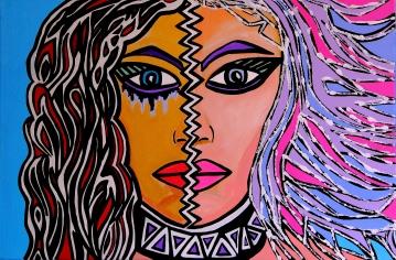 Splitting - by Charlotte Farhan