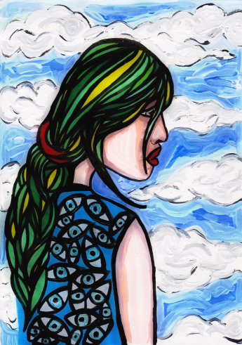 I Can't Look Forward - By Charlotte Farhan