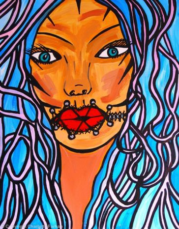 Silence is Oppressive - By Charlotte Farhan