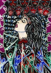 Head on a Stick - By Charlotte Farhan