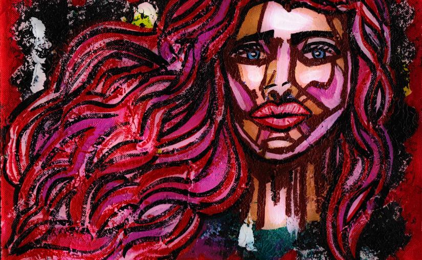 Poetry and Art Spotlight: Red – By CharlotteFarhan