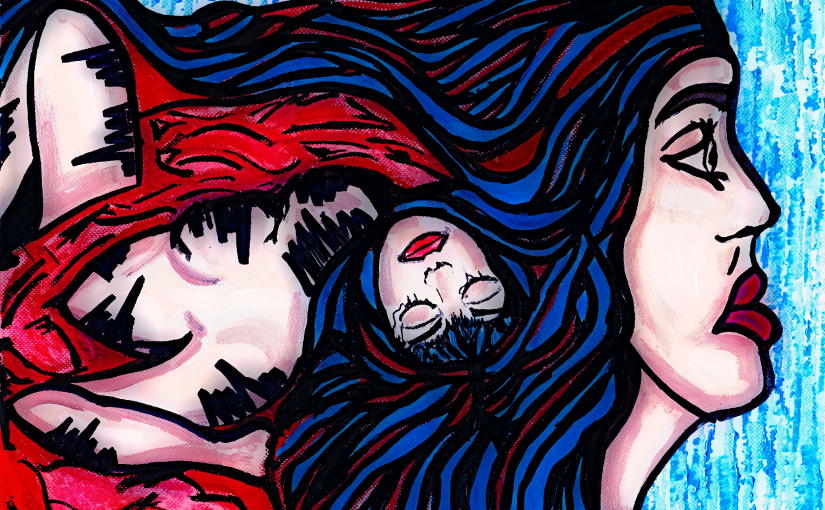 I carry it with me – By Charlotte Farhan – Art to End the Silence on Rape