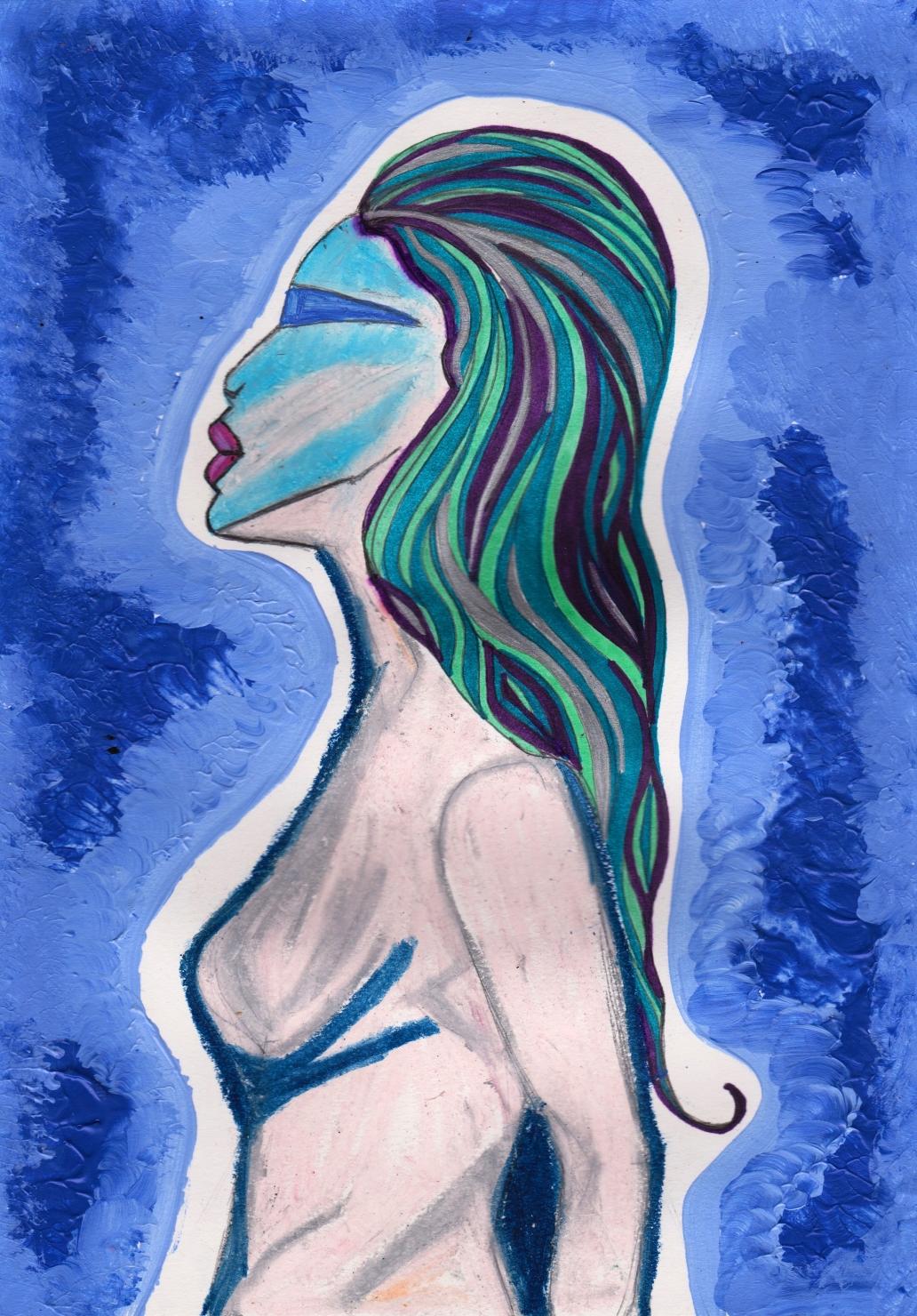 Alien Woman - By Charlotte Farhan