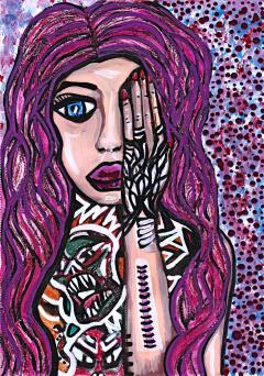 Bad Child Crazy Girl - By Charlotte Farhan