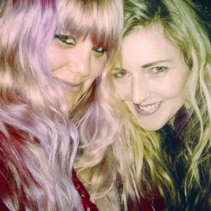 Lisa Reeve and Charlotte Farhan