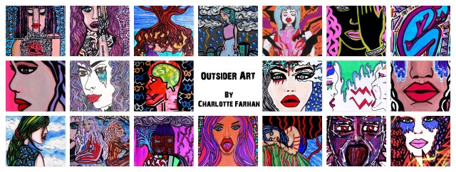 Outsider art by Charlotte Farhan