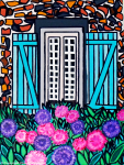 L'été À Ma Fenêtre - By Charlotte Farhan