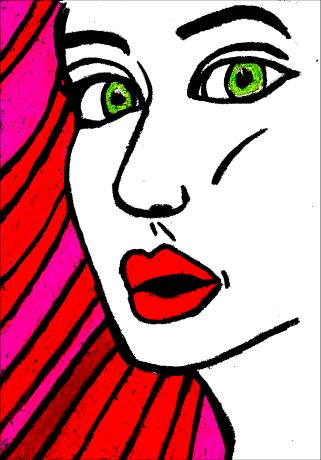 Green Eyes - By Charlotte Farhan