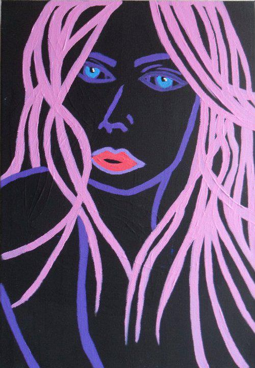 Neon Woman - By Charlotte Farhan