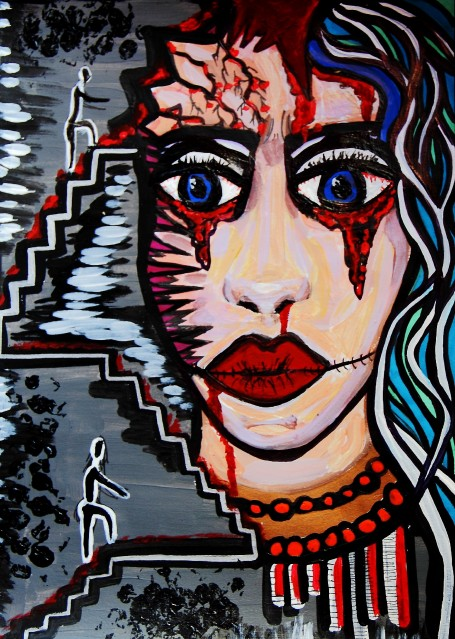 Complex Post Traumatic Stress Disorder (CPTSD) Art by CharlotteFarhan