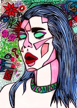 when I close my eyes - by Charlotte Farhan