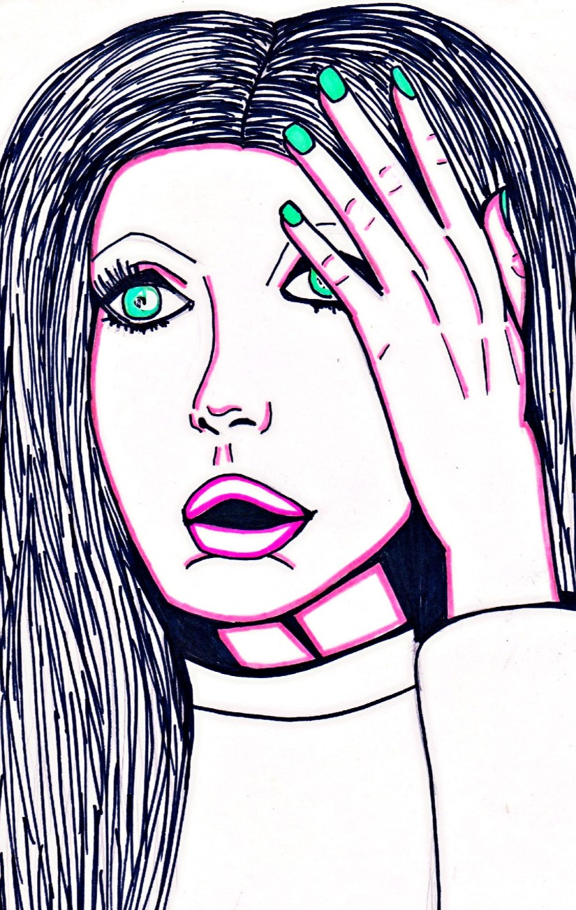 Everyone is Watching – Art and Poetry By CharlotteFarhan