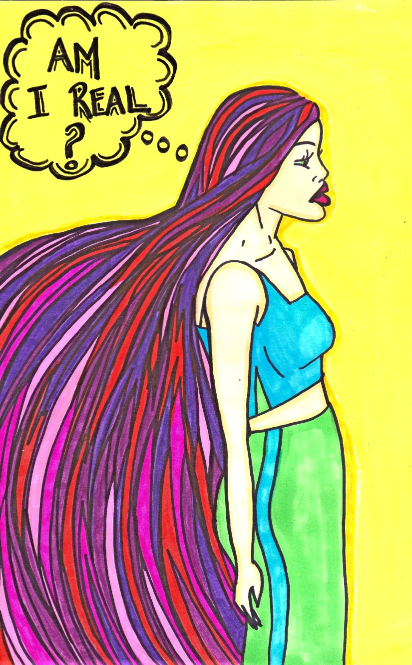 Am I real - By Charlotte Farhan