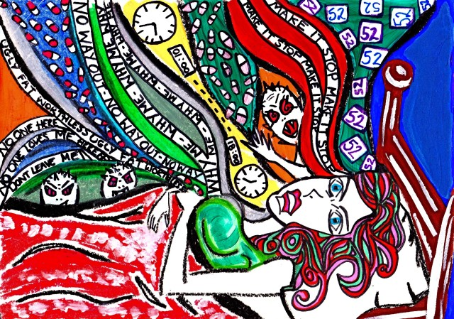 Now I lay me down to sleep – Art and Poetry by CharlotteFarhan