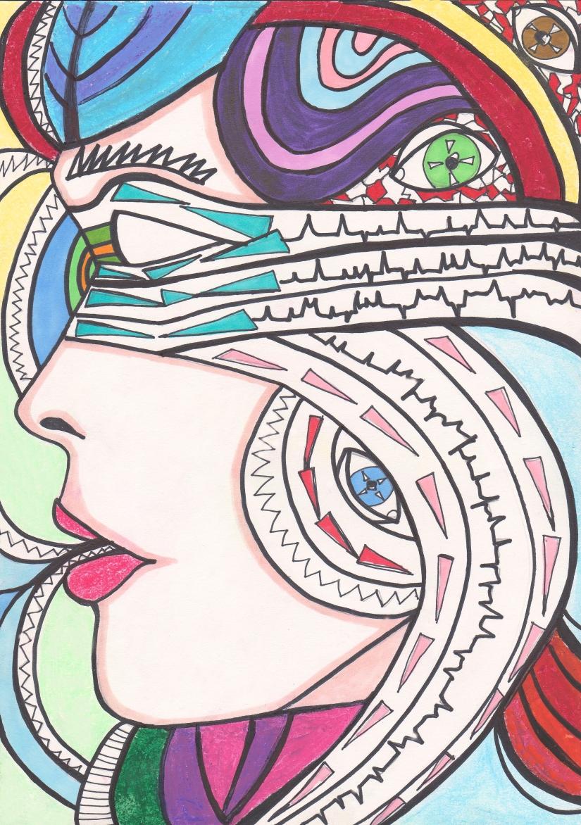 A Kind of Healing – Art and Poetry By CharlotteFarhan